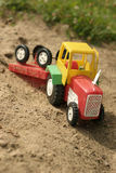 玩具通信工具 库存照片
