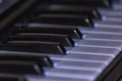 玩具钢琴 库存图片