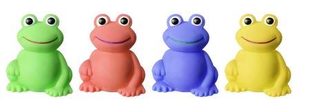 玩具青蛙 库存照片