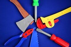 玩具仪器 免版税库存照片