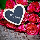 玫瑰为情人节 图库摄影