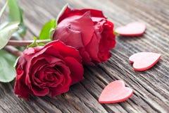 玫瑰和重点 免版税库存照片