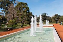 玫瑰园(Rosedal),布宜诺斯艾利斯Argentinien 免版税库存照片