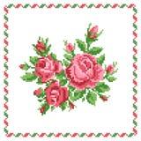 玫瑰的花束 免版税库存图片