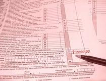 玫瑰色的外型 免版税库存图片