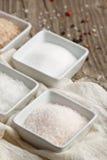 玫瑰色盐 免版税库存图片