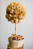 玫瑰色结构树 库存照片