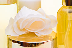 玫瑰色肥皂 库存图片