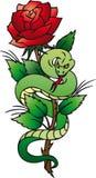 玫瑰色蛇 免版税库存照片