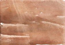 玫瑰色褐色的水墨画纸 免版税图库摄影