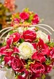 玫瑰花束。 库存图片