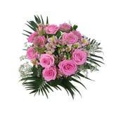 玫瑰花束 库存照片
