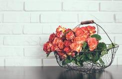 玫瑰花束 免版税库存图片