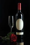 玫瑰酒红色 免版税图库摄影