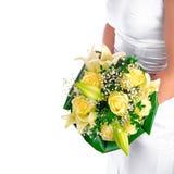 玫瑰黄色 免版税库存照片