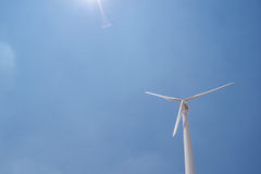 环保电力风 库存图片