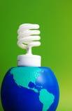 环保电力 免版税库存图片