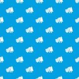 环境保护样式传染媒介无缝的蓝色 免版税库存照片