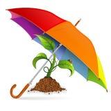 环境保护概念 免版税库存图片