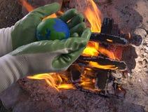 环境保护运动 免版税库存照片