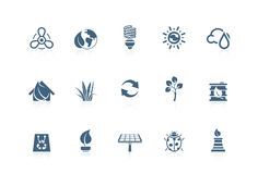 环境图标短笛系列 免版税库存图片