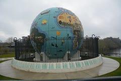 环境地球地球在萨利姆,俄勒冈 免版税库存图片