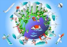 环境地球科学,五颜六色 免版税库存图片
