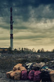 环境污染2 免版税库存图片