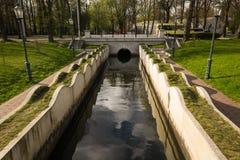 环境美化在公园 库存照片