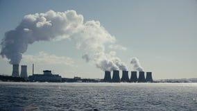 环境美化有核电站或NPP看法从凉水池 股票视频