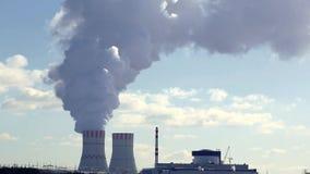 环境美化有核电站或NPP看法从凉水池 股票录像