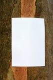 环境通知单 免版税库存照片