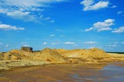 环境问题,自然的污染 免版税库存照片