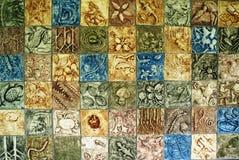 环境马赛克墙壁 免版税图库摄影