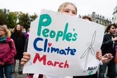 环境活动家 免版税库存照片