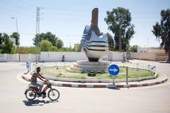 环形交通枢纽在Jilmah 免版税库存照片