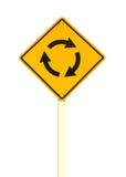环形交通枢纽符号 免版税图库摄影