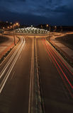 环形交通枢纽 库存照片
