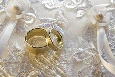 环形婚礼 图库摄影
