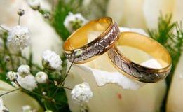 环形婚礼 库存照片