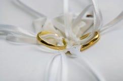 环形婚礼 免版税图库摄影