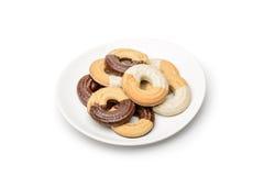 环形的饼干 免版税库存图片