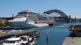 环形码头,悉尼港口,澳大利亚 影视素材