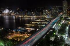 环形码头在悉尼澳大利亚 图库摄影