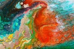 环氧树脂培养皿艺术 免版税图库摄影