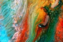 环氧树脂培养皿艺术 免版税库存照片