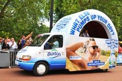 环法自行车赛在伦敦,英国 图库摄影