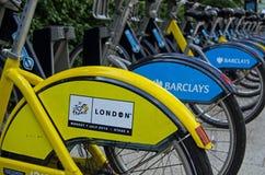 环法自行车赛,伦敦 图库摄影