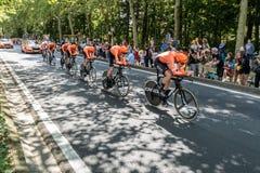 环法自行车赛2019年在布鲁塞尔 库存图片