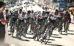 """环法自行车赛2016路线阶段17 :伯尔尼swi †""""Finhaut Emosson (swi) 库存照片"""
